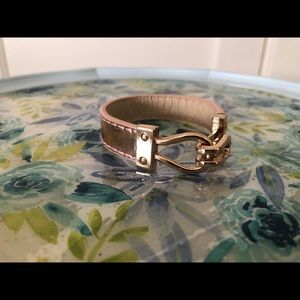 Jewelry - Rose Gold Leather Bracelet